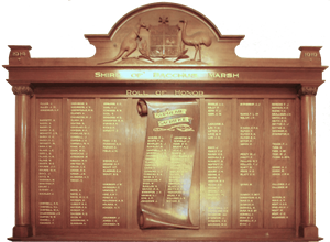 Image Roll of Honour