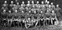 Group portrait of the officers of the 24th Battalion